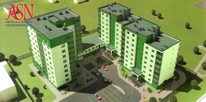 2-комнатной квартиры Новая Слобода Машерова 7 а